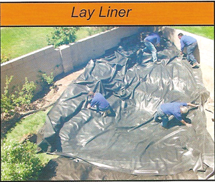 laydown pond liner