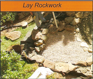 lay your rock work