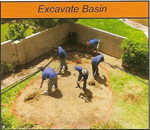excavate your pond