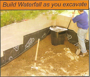 build your waterfall