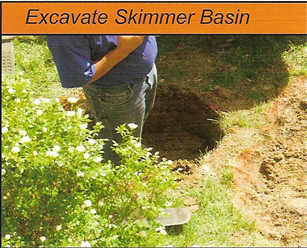 escavate your skimmer 