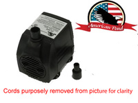 American Pond APJR350 Small Submersible Fountain Pump