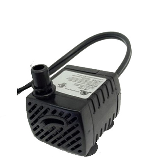 American pond apjr150 small submersible fountain pump for Small pond pump