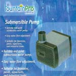 Fountain Pro Pumps